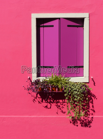 window in burano
