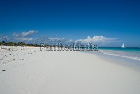 huge caribbean beach