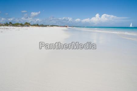 tropical beach ground level