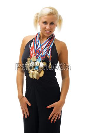 mujer risilla sonrisas deporte deportes liberado