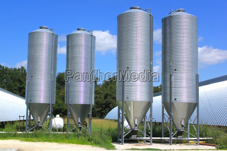 silot para almacenar grano