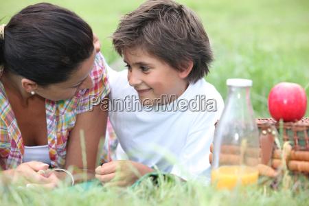 parque verano veraniego fuera comida almuerzo