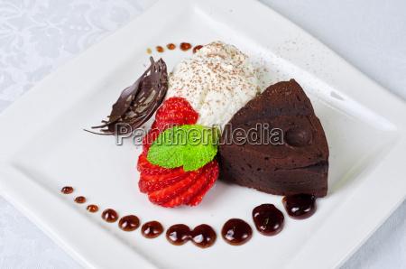restaurante comida objeto dulce primer plano