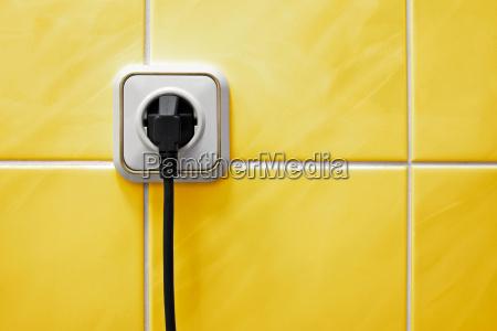 poder electrico toma de corriente electrica