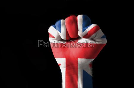 punyo poder bandera violencia estado pais