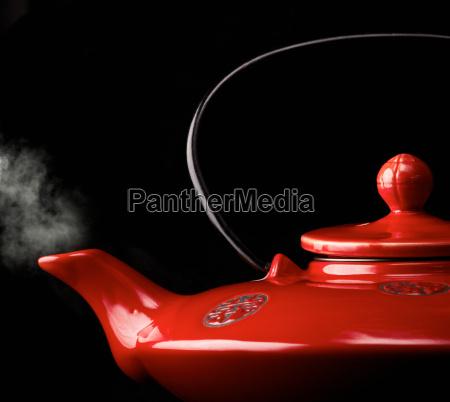 tetera roja china