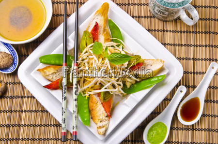 thai, sheep, roasted, chicken's, breast, fillet - 6029213