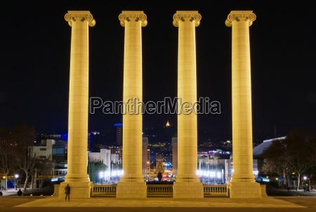 azul paseo viaje ciudad noche turismo