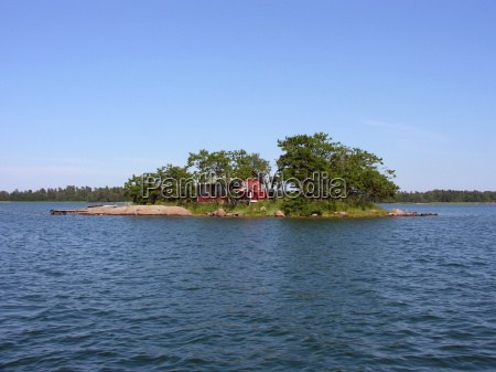 skerry in the aland islands