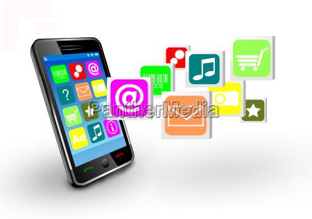smartphone aplicaciones movil