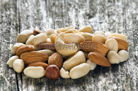 nueces nuez avellana mixto semilla anacardo