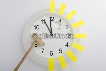 fechas reloj presion caotico tarde cita