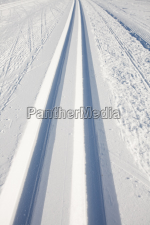 pistas de esqui de fondo en