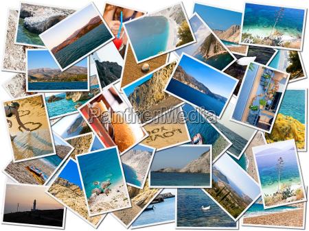 mar del collage vida foto