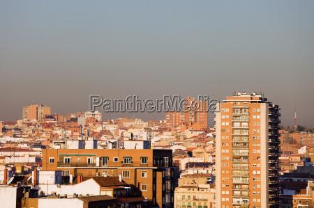 madrid paisaje urbano