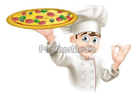 muestra de la autorizacion pizza chef