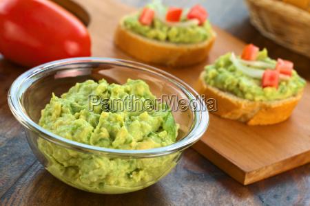 fresh avocado cream