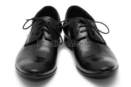 classic zapatos para hombre negro
