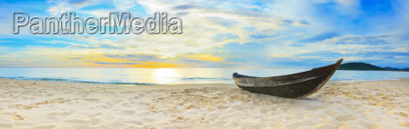 panorama de la playa