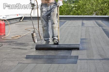 cubrir un tejado