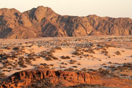 desierto africa namibia seco paisaje naturaleza