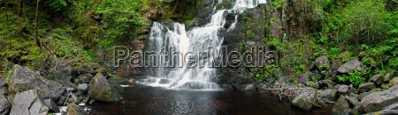 parque cascada estado irlanda nacional nacionales