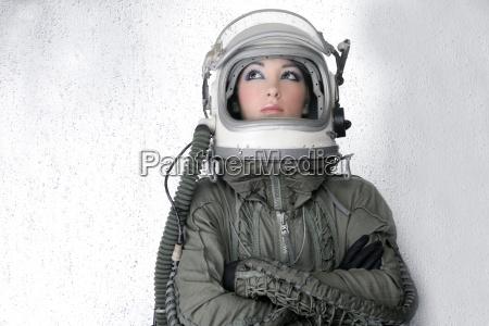 astronauta aviones mujer la manera del