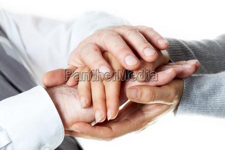 mano amistad dedo primer plano liberado