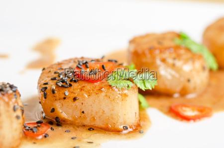 cerrar restaurante comida primer plano caliente