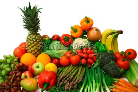 comida acuerdo frutas fruta vegetal arreglo