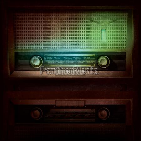 fondo de musica abstracta con radio