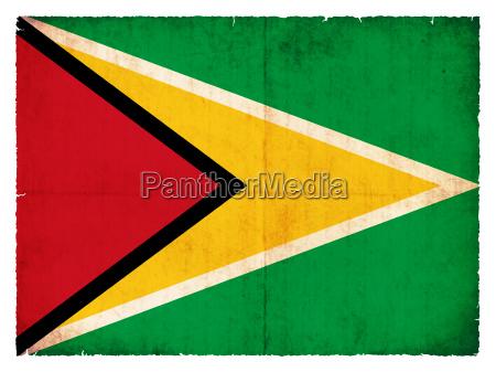 bandera estilo guayana viejo