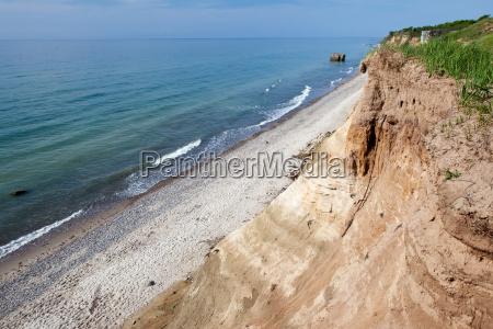 baltic sea cliff