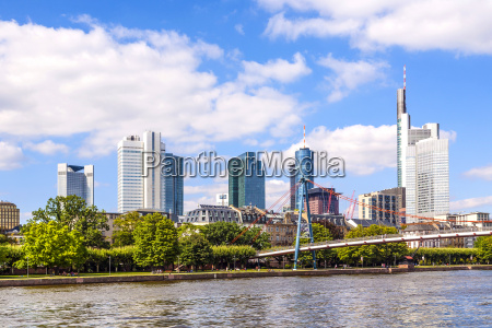 city of frankfurt germany