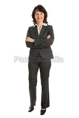 retrato de exitosa mujer de negocios