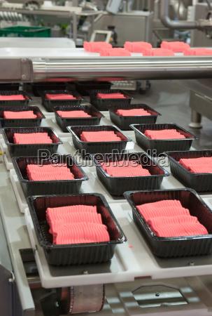 la produccion industrial de alimentos