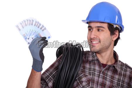 banco negocios trabajo mano de obra