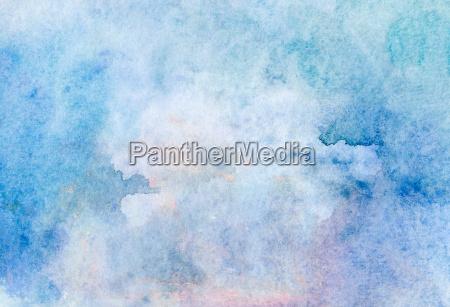 textura de acuarela azul claro beige
