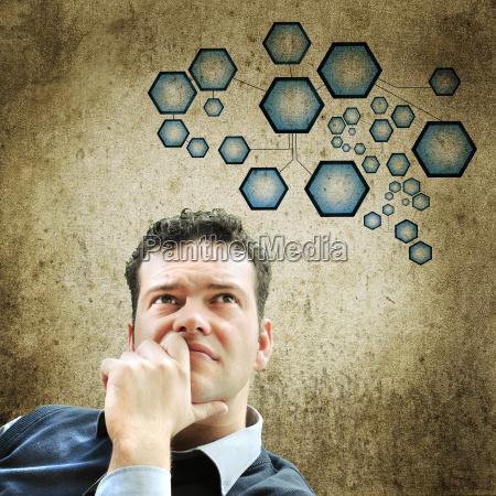 estudio estrategia cara pensar negocios trabajo