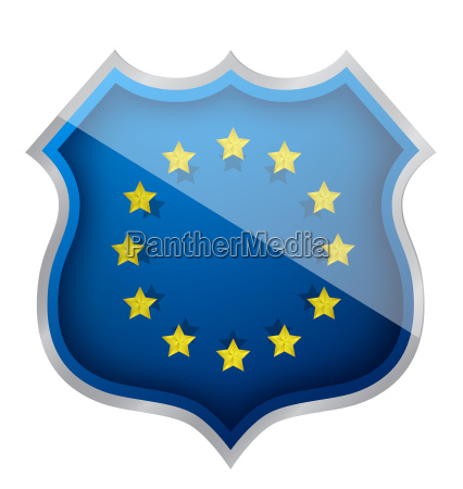 european shield illustration