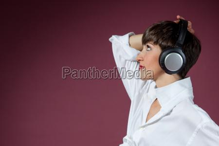 mujer disco hermoso bueno musica sonido