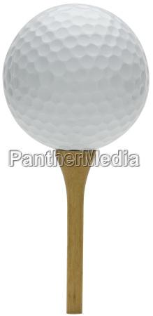 pelota de golf y camiseta