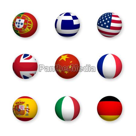 idiomas extranjeros simbolos