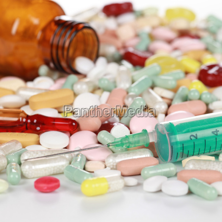 los comprimidos y otras drogas