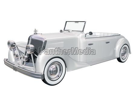 coche clasico de la boda