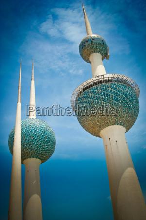 kuwait towers ciudad de kuwait