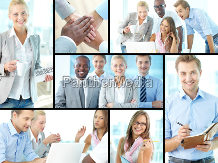 successful young businesspeople