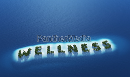 wellness island concept