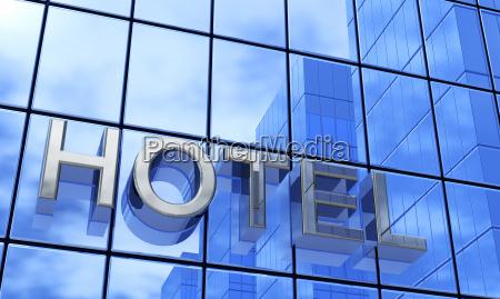 blue facade hotel 1