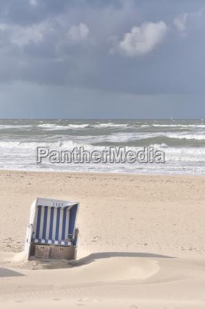 sanded beach chair